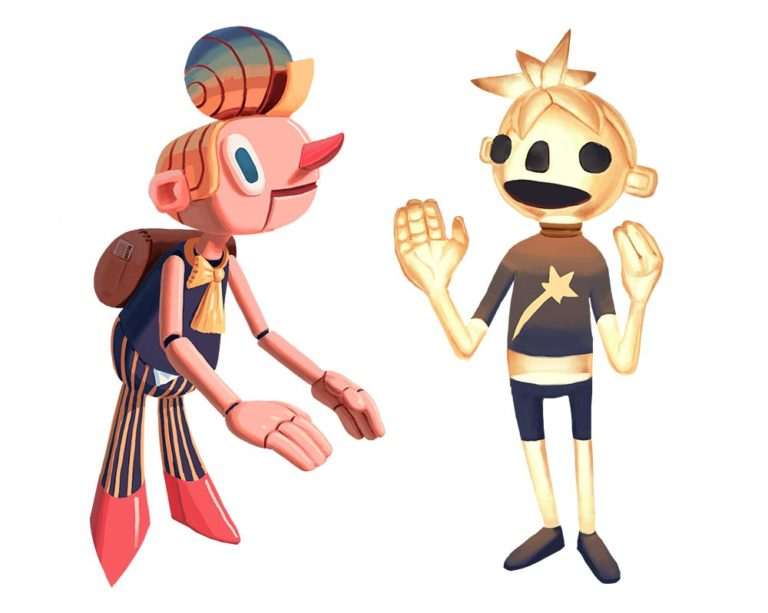 character design starchild